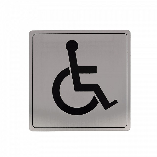 DISABLED WHEELCHAIR SIGN 140x140